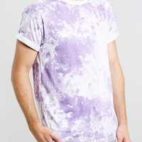 LILAC SMOKE WASH T-SHIRT - Men's Tees & Tanks - Clothing - TOPMAN USA