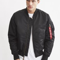 Alpha Industries MA1 VF 59 Black - Shop at The Idle Man