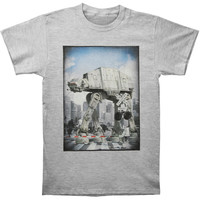 Star Wars Men's  ATAT Xing T-shirt Heather