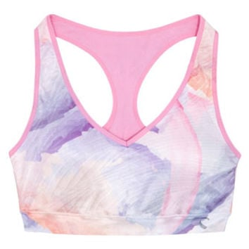 Climawear Pastel Multicolour Print Sports Bra