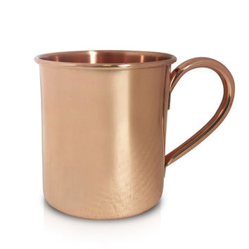 Solid Copper Moscow Mule Mug - 16 ounce