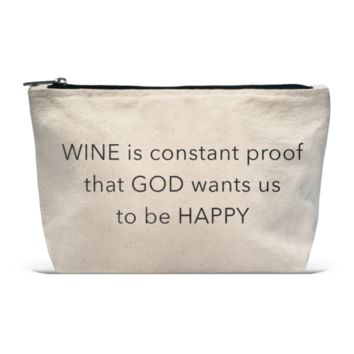 POUCH- WINE IS CONSTANT PROOF