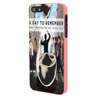 A Day To Remember Sand Watch Master iPhone 5 Case Framed Pink