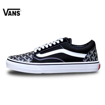 082ad136742 Vans Fog Old Skool VNOB65G1R1B Classic Low-Top Trainers Sports