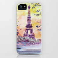 Paris iPhone & iPod Case by Anna Shell