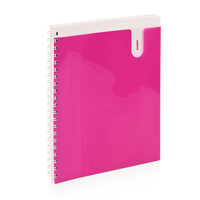 Pink One Subject Pocket Notebook