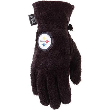 180s Pittsburgh Steelers Women's Lush Gloves