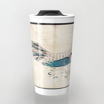 In the kitchen  Travel Mug by Jessica Ivy