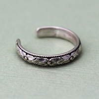 Petite Sterling Silver Toe Ring