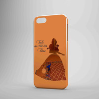 Belle Quote Beauty The Beast Disney iPhone Case Galaxy Case 3D Case