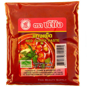 Nam Jai Thai Red Curry Paste 100g 3.5oz