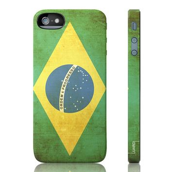 Luardi Brazil Snap-On iPhone 5 Cell Phone Case LIP5GSBC0013
