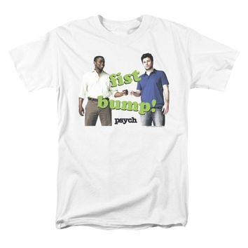 Psych Men's  Bump It T-shirt White Rockabilia