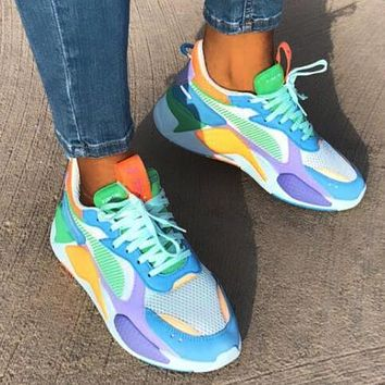 Puma Rs-X Reinvention Fashion Women Men Leisure Running Sport Jogging Shoes Sneakers