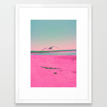 Beach Day Framed Art Print by duckyb