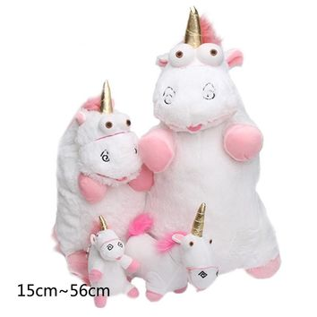 The unicorn plush doll 40cm 18cm Licorne Fluffy Unicorn Stuffed Animals Doll Figure For Kids