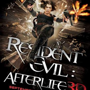 Resident Evil: Afterlife 27x40 Movie Poster (2010)