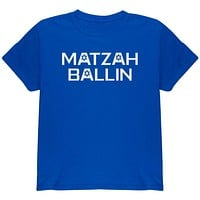 Jewish Matzah Ballin' Youth T Shirt