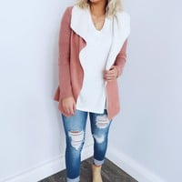 Closer To Me Jacket: Blush