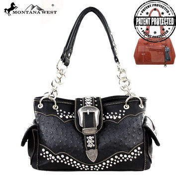 Montana West MW189G-8085 Concealed Carry Handbag