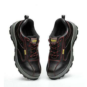 Mens Steel Toe Work  Shoes with Anti Skid surface Clearance Size 10
