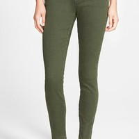 Articles of Society 'Cindy' Overdye Skinny Jeans (Olive) | Nordstrom