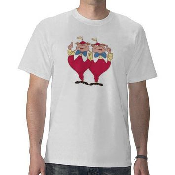 Tweedle Dum and Dee Disney Tees from Zazzle.com
