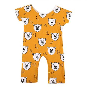 Toddler Infant Baby Girl Boy Lion Romper new arrival fashion Jumpsuit Outfits Clothes