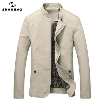 Business Casual Collar Cotton Jacket