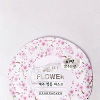 DearPacker JeJu Flower Mask - Cherry Blossom