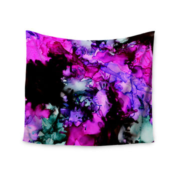 "Claire Day ""Siren"" Pink Purple Wall Tapestry"