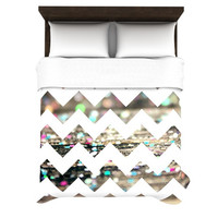 "Beth Engel ""After Party Chevron"" Duvet Cover 