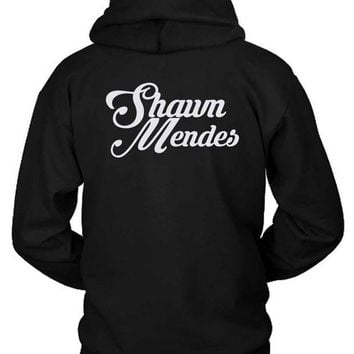 DCCKG72 Shawn Mendes Title Hoodie Two Sided
