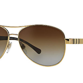 Burberry Polarized BE3080 Sunglasses | Sunglass Hut