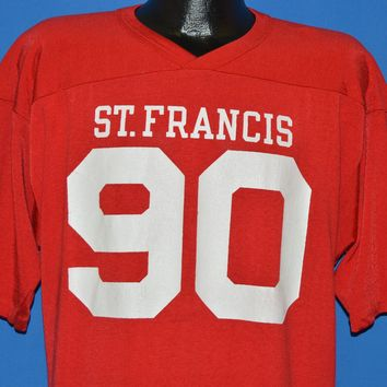 80s St. Francis University Football Jersey Extra Large