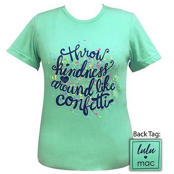 Girlie Girl Originals Lulu Mac Preppy Throw Kindness T-Shirt