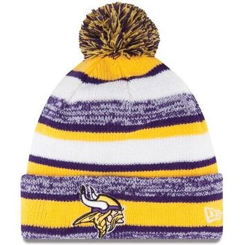 Minnesota Vikings New Era Sport Knit Winter Hat | Pro Football Hall of Fame