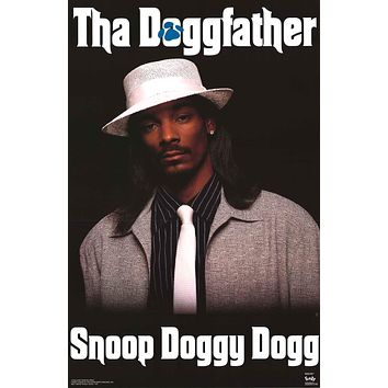 Snoop Dogg Tha Doggfather 1996 Poster 22x34