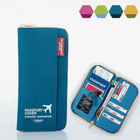 Travel Credit Card Passport Holder Ticket Wallet
