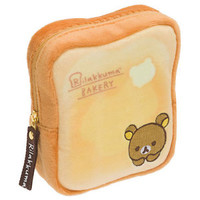 Bread mini Pouch Rilakkuma Bakery ❤ San-X Japan