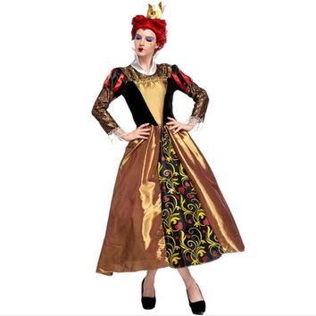 New Women Lady Royal Empress  Adults Evil Queen Cosplay Costumes  Carnival Party  Supplies  Costume  Halloween Christmas