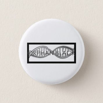 Hand Drawn DNA Pinback Button