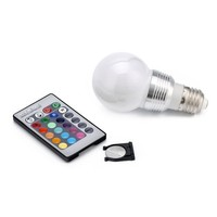 The lastest 3WQ4 Color Changing Light Bulb With Remote