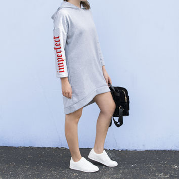 Imperfect Sweatshirt Dress