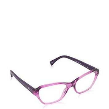 Ray-Ban - RX 5341, Cat Eye, acetate, women, STRIPED PURPLE SHADED VIOLET(5570), 53/17/135