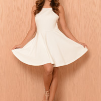 Mindy Dress - Ivory