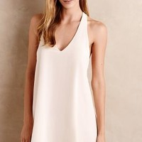 Eloise V-Neck Swing Slip in Ivory Size: