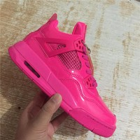 "Air Jordan 4 Retro ""Valentine's Day"" Basketball Shoes"