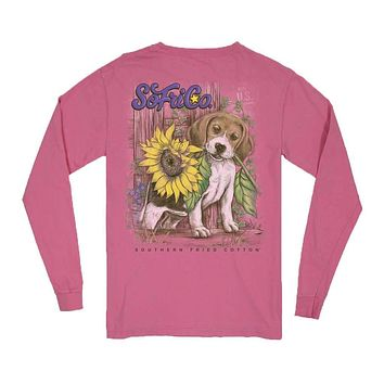 YOUTH Sunny Long Sleeve Tee by Southern Fried Cotton