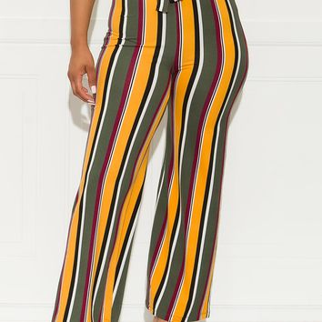 Gotta Be Me Pants- Yellow/Green